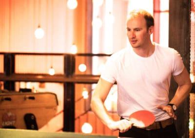 Ping pong at 'The Pit'