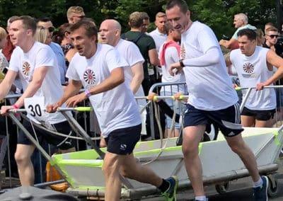 Knaresborough Bed Race 2018 Race time